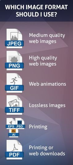 Which Image Format Should I Use?