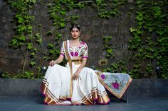 Designer Shilpa Reddy showcased her collection at India Fashion Week Dubai #IFWD #shilpareddystudio #chanderi #silk #lehenga
