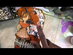 ▶ Halloween Julie Nutting Doll Tags - YouTube