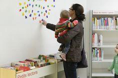 Sala Infantil de la Biblioteca-El-Clot-Josep-Benet de Barcelona