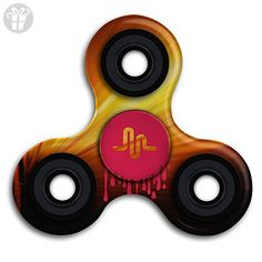 Musical.ly Rain Logo Time Killing Tri Fidget Spinner Anxiety Relief Finger Toy - Fidget spinner (*Amazon Partner-Link)