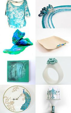 turquoise dream by Lea Marino on Etsy