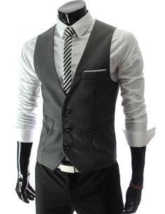 Image result for unbuttoned vest
