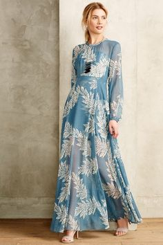 Conservatoire Dress - Modest printed maxi dress with sleeves | Shop Mode-sty #nolayering