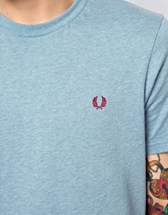 Enlarge Fred Perry T-Shirt with Laurel Logo