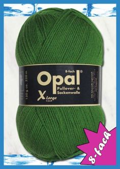 Opal uni 8ply 6807 vihreä