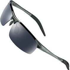3b1d614144 ROCKNIGHT Driving Polarized Sunglasses Men UV Protection Ultra Lightweight  Al Mg Golf Fishing Sports Sunglasses