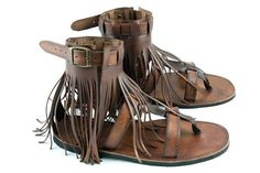 Hey, I found this really awesome Etsy listing at https://www.etsy.com/listing/176304613/leather-fringe-hippie-sandals