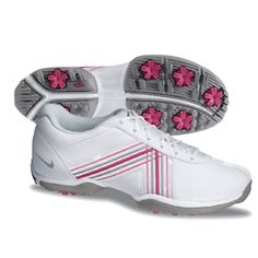 Breast cancer adidas golf shoes
