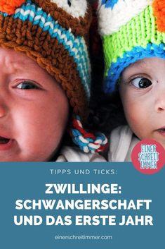 """Du erwartest Zwillinge? Oder bist frisch gebackene Zwillingsmama? Wir haben hier 19 Tipps, die deinen Alltag mit Zwillingen einfacher machen. Gesammelt von der Community von """"Einer schreit immer"""". Du findest hier Fakten, Fotos und Ideen für das Babyzimmer mit Zwillingen.    #einerschreitimmer #zwillinge #zwillingsmama #zwillingsschwangerschaft #mamablog #zwillingsblog 2 Kind, Crochet Hats, Photos, Childhood Education, Recipes For Children, Twins, Playing Games, Crocheted Hats"""