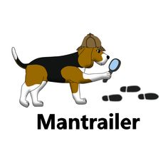 Mantrailer Beagle