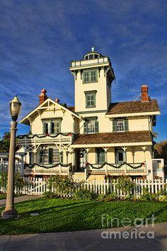 Fermin Point Lighthouse Photograph  - Fermin Point Lighthouse Fine Art Print