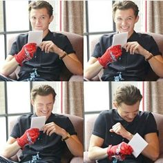Requests are open! Imagines for the purest human being to ever exist; Tom Holland --i do not own Tom or any of his char...