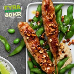 Lotta Lundgren - Kycklingspett med sticky rice
