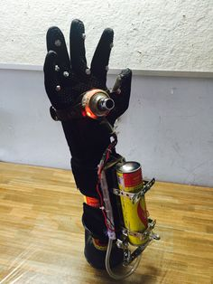 Pyro glove