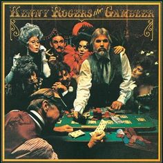 The Best Country Album Cover Artwork: 15. Kenny Rogers - The Gambler