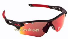 Γυαλιά Ηλίου Oakley Radarlock 9181 06 OO Red Iridium polarized - Τιμή   266 ca16d125bb