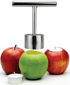 Apple candles!