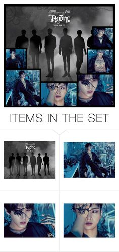"""""""Dark Princes Of The Night- VIXX"""" by anime-rocker ❤ liked on Polyvore featuring art"""
