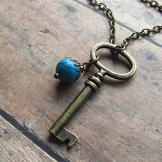 Skeleton key necklace @NestingNomad
