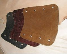 Leather Archer's bracer, available in 3 colors
