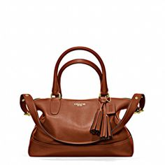 Legacy Leather Molly Satchel (Coach - 1.5% donation)