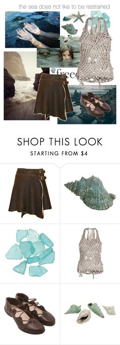 """""""Selkie"""" by rebellious-ingenue ❤ liked on Polyvore featuring FAUXTALE, Trippen and IMAX Corporation"""