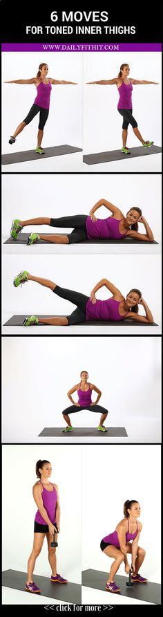 See more here ► www.youtube.com/... Tags: best way to run to lose weight, what is the best way to lose weight fast, the best and quickest way to lose weight - 6 Moves for Terrifically Toned Inner Thighs #Workout #Fitness #WeightLoss Image Credits: popsugarfitness #exercise #diet #workout #fitness #health