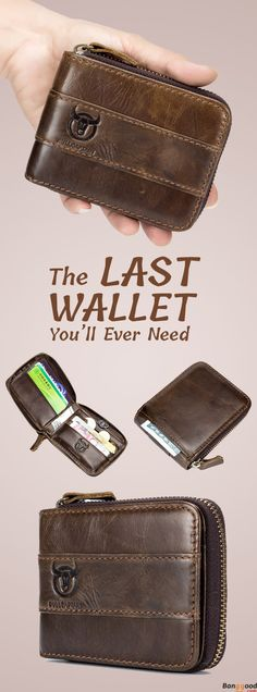 A Combination of Coin Bag, Card Hol. A Combination of Coin Bag, Card Holder & Wallet Vintage Portable Wallet. A Combination of Coin Bag, Card Holder & Wallet - Things To Buy, Stuff To Buy, Coin Bag, Jewelry Organization, Leather Working, Gift Bags, Leather Craft, Gifts For Dad, Watches For Men
