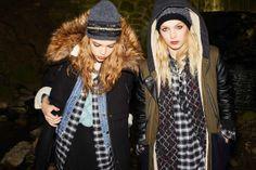 #Black #fur trim #coat #MissSelfridge #MissS #AW13