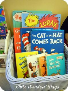 10 Things to make a great kids reading space via Little Wonders' Days
