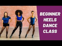 15 Min Heels Dance Class | Power Heels Dance Tutorial - YouTube Dance Training, Dance Class, Workout Videos, Burlesque, High Heels, Exercise, Fitness, Youtube, Healthy