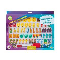 L'ardoise magnétique Premium Les Alphas pour enfant de 5 ans à 8 ans - Oxybul éveil et jeux