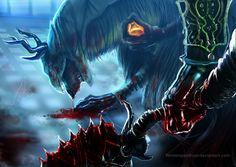 Bloodborne- No Mercy for a Beast by WinterSpectrum.deviantart.com on @DeviantArt