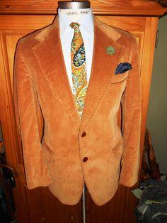 SEARS 42L vintage men's corduroy jacket. by RichardsFabulousFind, $95.00