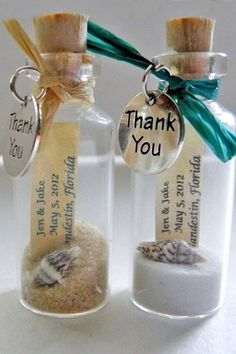 beach wedding save the date via weddingsaway etsy