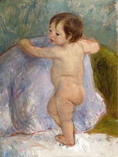 File:'The Child' by Mary Cassatt, Speed Art Museum. Edgar Degas, Edward Hopper, Native American Art, American Artists, Mary Cassatt Art, Speed Art Museum, Evans Art, American Impressionism, Berthe Morisot