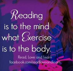 Reading quote via www.Facebook.com/ReadLoveAndLearn