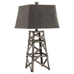 Found it at AllModern - Meadowhall Table Lamp in Gray & Brown