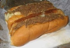 CONEY SAUCE for HOT DOGS Lbs.- Hamburger Large Onion C. Sugar C. Chili Powder C. Ketchup C. Water Chop Onion Mix Hamburger Onion in skillet Brown Hamburger Onion until Hamburger is done. Put mixture back in skillet and add remaining ingredients. Dog Recipes, Sauce Recipes, Beef Recipes, Cooking Recipes, Easy Recipes, Copycat Recipes, Delicious Recipes, Cooking Chef, Delicious Sandwiches