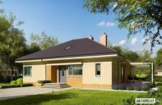 Modern Bungalow Family Home with Dynamic Features - Pinoy House Designs - Pinoy House Designs Bungalow House Design, Modern Bungalow, Contemporary House Plans, Modern House Plans, Open Layout, Story House, Types Of Houses, Sliding Glass Door, Large Windows