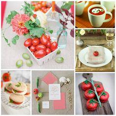 Tomato Inspiration {Wedding and Event Planning}