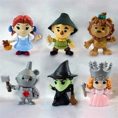 McDonalds Wizard of Oz Toys