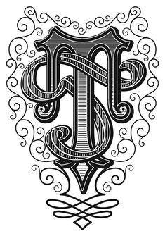 Wire Jewelry, Jewelry Art, Fancy Letters, Drop Cap, Vintage Type, Writing Styles, Wire Art, String Art, Tribal Tattoos