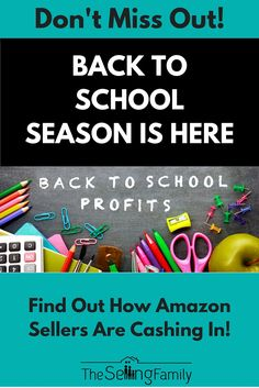 Some of you have been dreading the 'Summer Slowdown' and telling yourself that there is nothing you can do about it!  Well we have good news.  With our help you can make some major profits in the Back To School season that is getting ready to heat up right now. The Back To School season is considered a major holiday by the big retail stores.  Let's take a note from them and realize there is huge potential scattered among the backpacks and notebooks. The average family spends over $1,500 per…