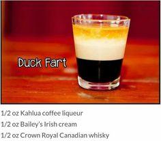 Duck fart -- I saved because I like the name