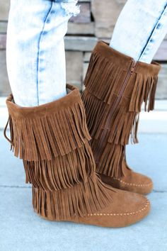 NanaMacs Boutique - The Tan Moccasin Boot, $44.00 (http://www.nanamacs.com/the-tan-moccasin-boot/)