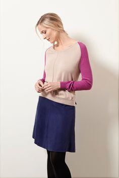 Komodo - Komodo Evieana Tencel Knee Length Skirt - Eco £27.50
