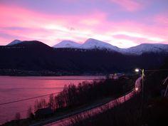 December Mood in Fiksdal, Norway. Photo: bestnorwegian.com