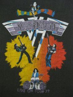 Van Halen 79 Tour